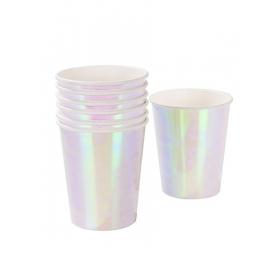 Ποτήρι Χάρτινο We Love Pastel Iridescent - ΚΩΔ:PASTEL-CUP-IR-JP