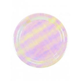 Πιάτα Φαγητού We Love Pastel Iridescent - ΚΩΔ:PASTEL-PLATE-IR-JP