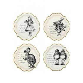 Πιάτα Φαγητού Φιγούρες Alice - ΚΩΔ:TSALICE-MEDPLATE-JP