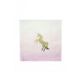 Χαρτοπετσέτες We Love Unicorns - ΚΩΔ:UNICORN-CNAPKIN-JP