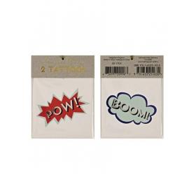 Τατουάζ Boom Pow - ΚΩΔ:45-1704-JP