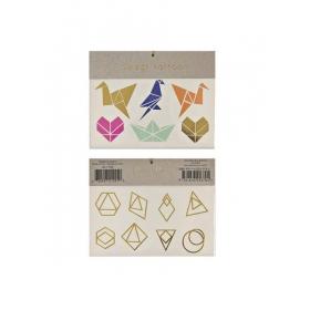 Τατουάζ Origami - ΚΩΔ:134839-JP