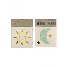 Sun & Moon Τατουάζ - ΚΩΔ:133327-JP