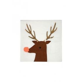 Χαρτοπετσέτες Reindeer - ΚΩΔ:162496-JP