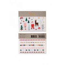 Τατουάζ Christmas Icons - ΚΩΔ:162766-JP