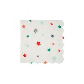 Χαρτοπετσέτα μικρή με Αστεράκια - ΚΩΔ:162982-JP