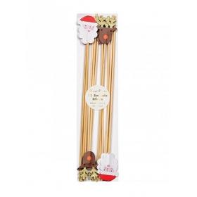 Sticks Ανάδευσης Ποτών Santa & Reindeer - ΚΩΔ:164035-JP