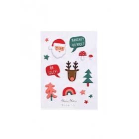 Αυτοκόλλητα Φουσκωτά Christmas Party - ΚΩΔ:164179-JP