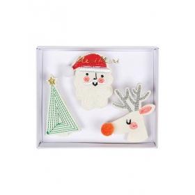 Καρφίτσες Christmas Φιγούρες - ΚΩΔ:164269-JP