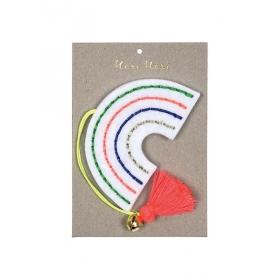 Χριστουγεννιάτικο Στολίδι Ουράνιο Τόξο - ΚΩΔ:60-0050-JP