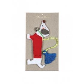 Χριστουγεννιάτικο Στολίδι Σκυλάκι - ΚΩΔ:60-0052-JP