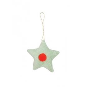Βελούδινο Διακοσμητικό Δέντρου Αστέρι - ΚΩΔ:163162-JP