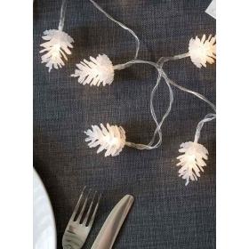 Tables Φωτιζόμενη Γιρλάντα Κουκουνάρια - ΚΩΔ:NORDIC-LIGHT-PINE-JP