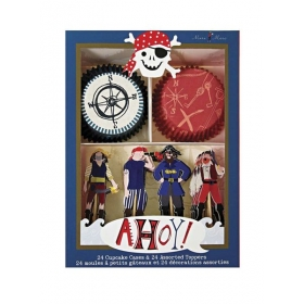 Cupcake kit Πειρατής Ahoy - ΚΩΔ:113365-JP