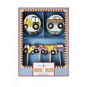 Cupcake kit Φορτηγά - ΚΩΔ:105121-JP