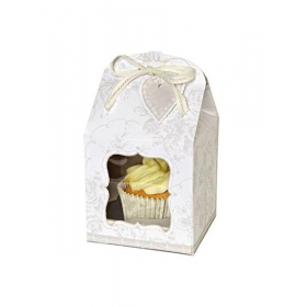 Cupcake Box Γάμου - ΚΩΔ:45-0593-JP