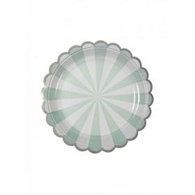 Πιάτο γλυκού TS Blue Stripe - ΚΩΔ:124228-JP