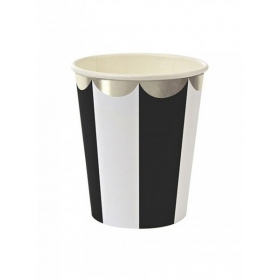 Ποτήρι χάρτινο TS Black Stripe - ΚΩΔ:125263-JP