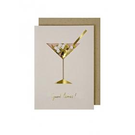 Coctail Confetti Shaker Ευχετήρια Κάρτα - ΚΩΔ:132625-JP
