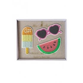 Summer Καρφίτσες 3τμχ - ΚΩΔ:146980-JP