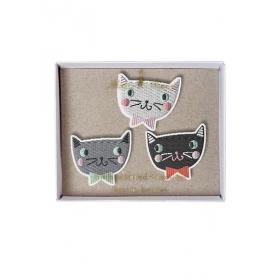Cats Καρφίτσες 3τμχ - ΚΩΔ:147286-JP
