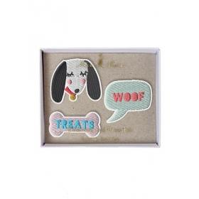 Dogs Καρφίτσες 3τμχ - ΚΩΔ:50-0110-JP