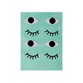 Eyes Αυτοκόλλητα - ΚΩΔ:146440-JP