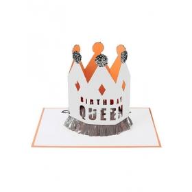 Birthday Queen Ευχετήρια Κάρτα - ΚΩΔ:144010-JP