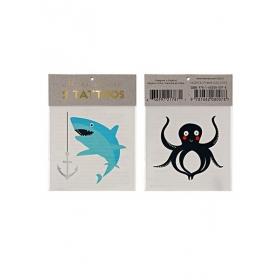 Sea Τατουάζ 2τμχ - ΚΩΔ:143173-JP