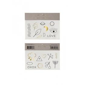 Love XOXO Τατουάζ 2τμχ - ΚΩΔ:143272-JP