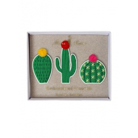 Cacti Καρφίτσες 3τμχ - ΚΩΔ:144613-JP