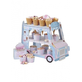 Street Stall Ice Cream Centerpiece / Stand - ΚΩΔ:STALL-ICECREAM-JP