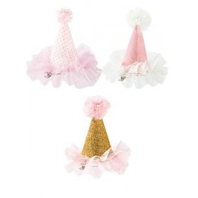 Μίνι Glitter Καπελάκι We Heart Pink - ΚΩΔ:PINK-HAT-JP