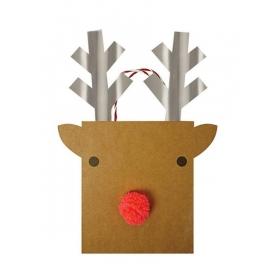 Τσάντα δώρου μεγάλη Reindeer - ΚΩΔ:44-0148-JP