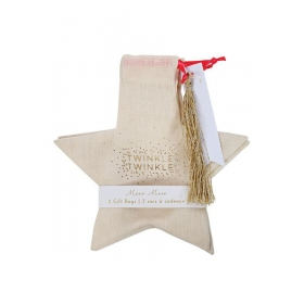 Υφασμάτινη τσάντα δώρου Αστέρι - ΚΩΔ:44-0152-JP