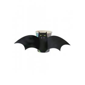 Halloween ποτήρι νυχτερίδα - ΚΩΔ:45-2366-JP