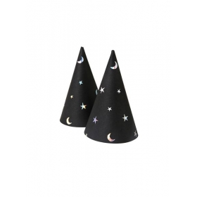 Mini Halloween καπελάκι μαύρο - ΚΩΔ:45-2411-JP