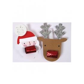Santa & Reindeer καραμούζες - ΚΩΔ:45-2457-JP
