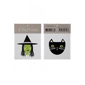 Witch & Cat Τατουάζ - ΚΩΔ:45-2460-JP