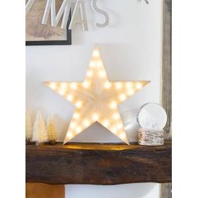 Ξύλινο Αστέρι - ΚΩΔ:NORDIC-LIGHT-STAR-JP
