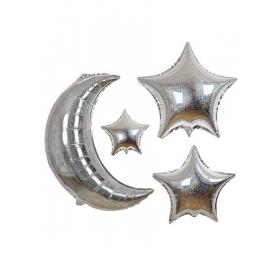 Μπαλόνια Φεγγάρι & Αστέρια - ΚΩΔ:150571-JP