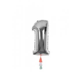 Μεταλλικό Μπαλόνι Νο1 - ΚΩΔ:154468-JP
