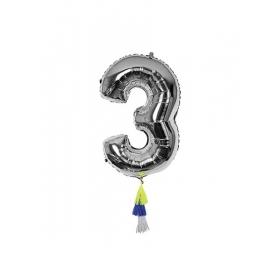 Μεταλλικό Μπαλόνι Νο3 - ΚΩΔ:154486-JP