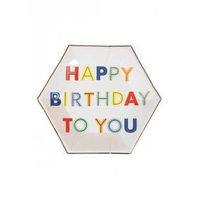 Πιάτο Γλυκού Happy Birthday To You - ΚΩΔ:157132-JP