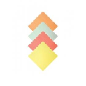 Χαρτοπετσέτες Μικρές νέον χρώματα - ΚΩΔ:158383-JP