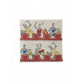 Χαρτοπετσέτες Ιππότες - ΚΩΔ:109072-JP