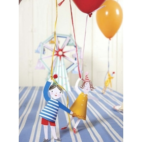 Balloon & Holder Toot Sweet - ΚΩΔ:45-0880-JP