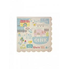 Χαρτοπετσέτες Happy Farm - ΚΩΔ:45-0951-JP