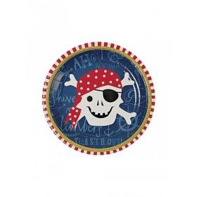 Πιάτο γλυκού Πειρατής Ahoy - ΚΩΔ:113329-JP