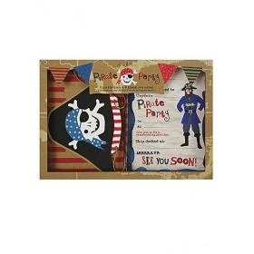 Προσκλητήριο ευχαριστήριο Πειρατής Ahoy - ΚΩΔ:45-0899-JP